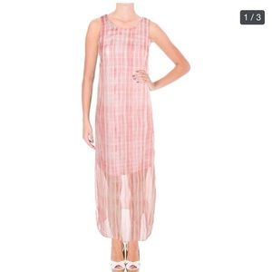 NWOT Vince Camuto Striped Maxi